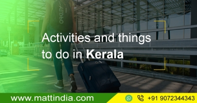 Activities and things to do in Kerala