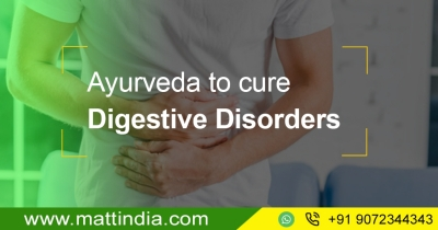 Ayurveda to cure Digestive Disorders