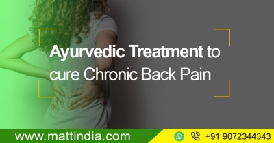 Ayurvedic Treatment to Cure Chronic Back Pain