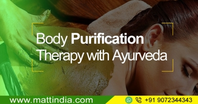 Body Purification Therapy with Ayurveda