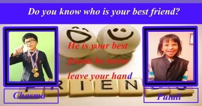 Do you know who is your best friend?