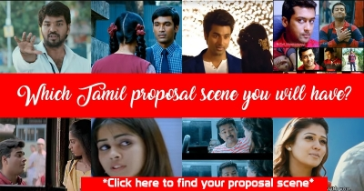 Find which Tamil movie proposal scene you will have?