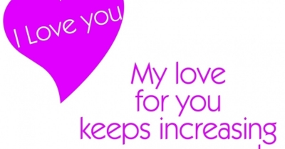 Who loves you how much?