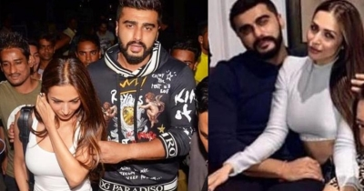 Malaika Arora Khan Caught With Arjun Kapoor Love Bites