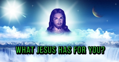 What jesus has for you?